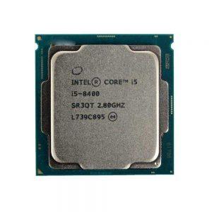 پردازنده اینتل Core i5-8400 Trayپردازنده اینتل Core i5-8400 Tray