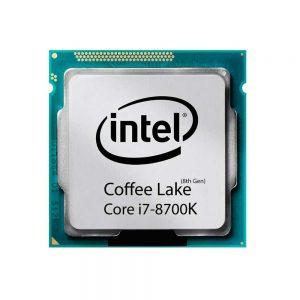 پردازنده اینتل Core i7-8700k Tray