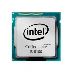 پردازنده اینتل Core i3-8100 Tray