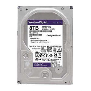 هارد دیسک اینترنال وسترن دیجیتال 8 ترابایت Western Digital Purple